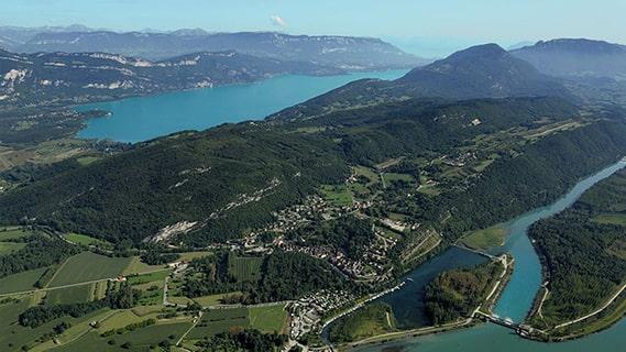 La grande croisière Savoie Mont Blanc, d'Aix-les-Bains à Chanaz